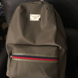 Tommy Hilfiger New York Full Size Backpack Green